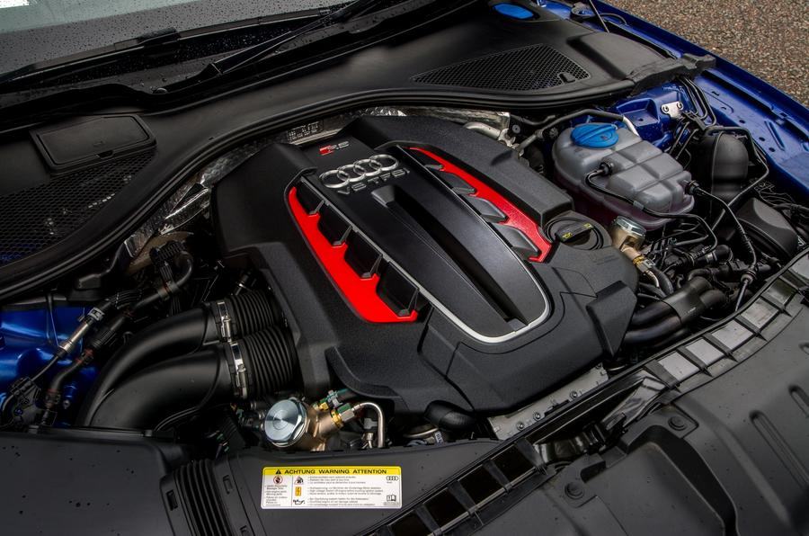 4.0-litre V8 TFSI Audi RS7 engine