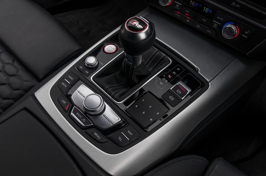 Audi RS7 S-tronic auto gearbox