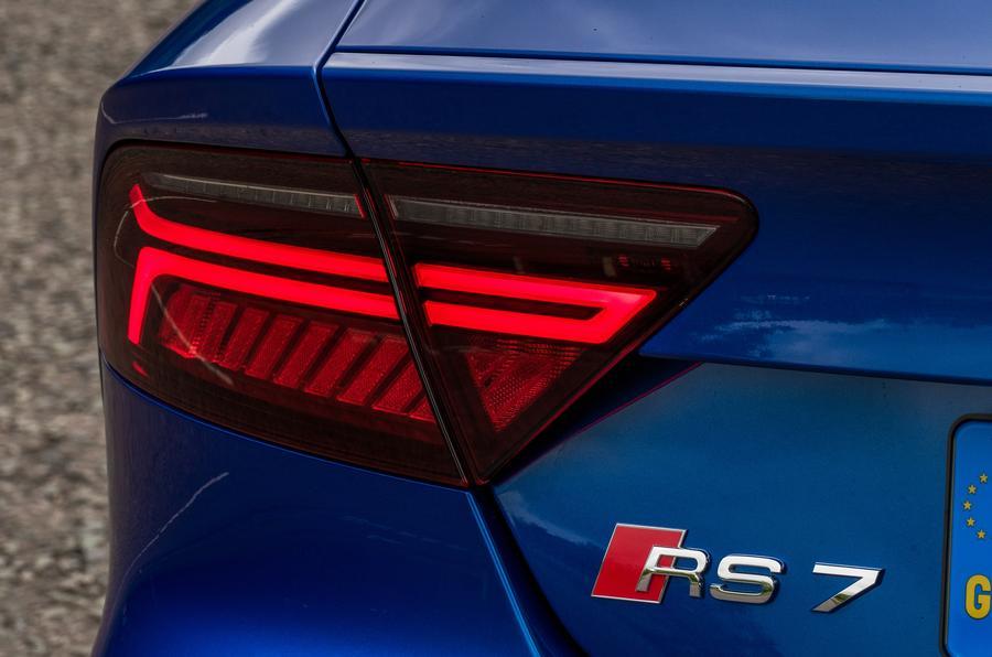 Audi RS7 LED rear lighting
