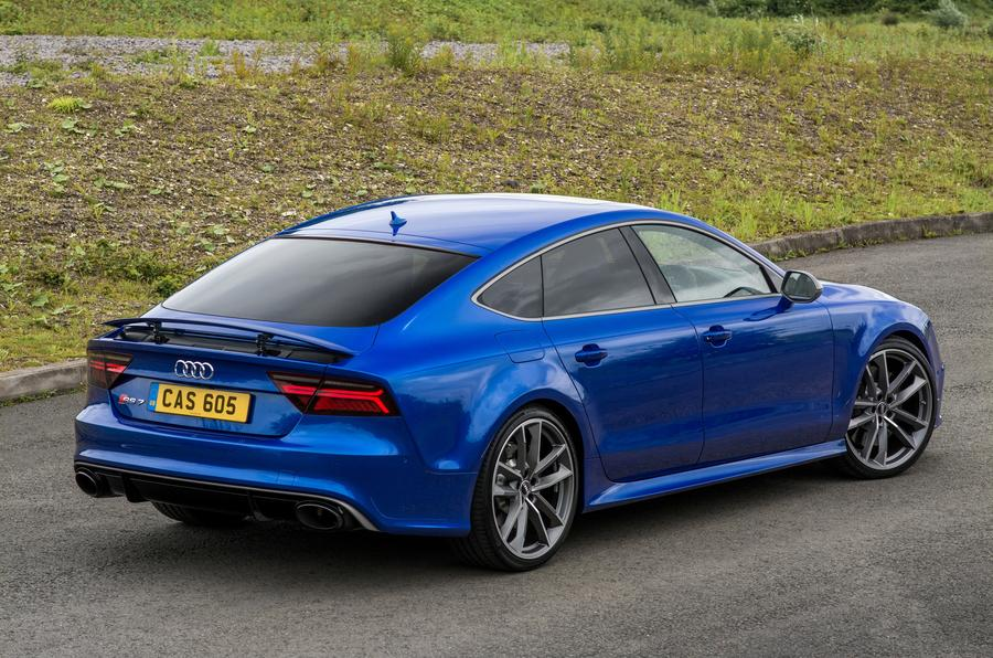 Audi RS7 rear quarter