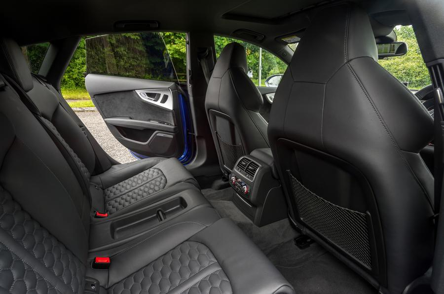 Audi RS7 rear seats