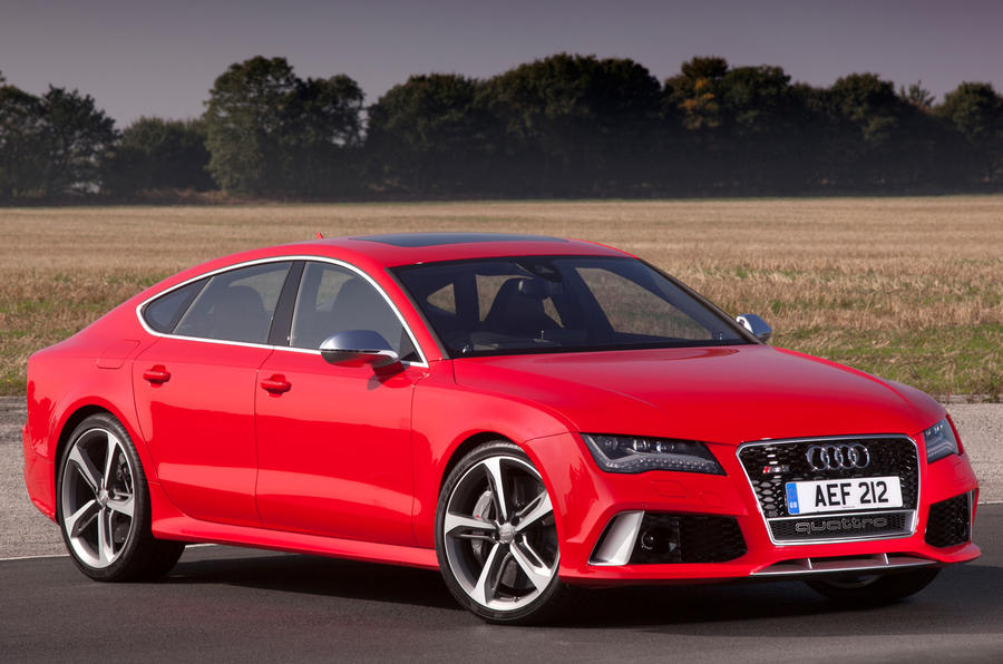The Audi RS7 produces 229g/km