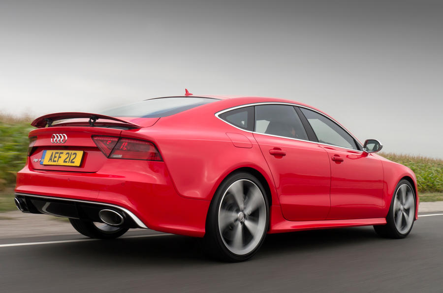 Audi RS7 does 0-62mph in 3.9sec