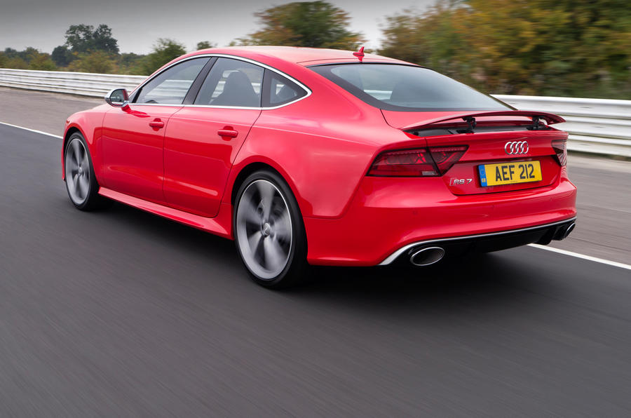 The £83,000 Audi RS7