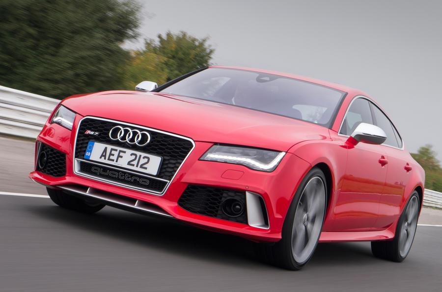 Audi RS7 has a 4.0-litre V8