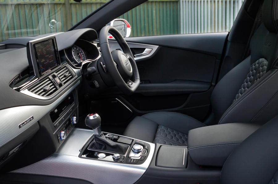 Audi RS7's interior