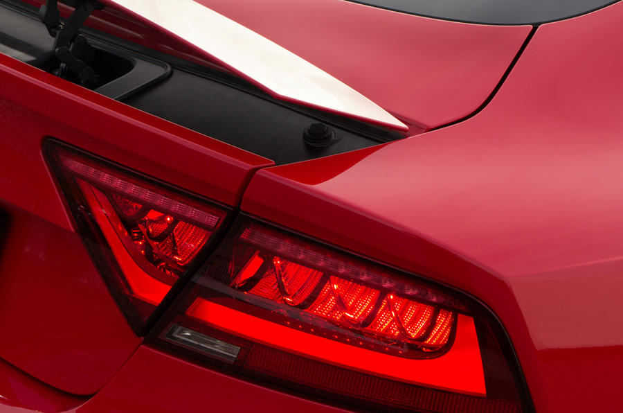 Audi RS7's rear lights