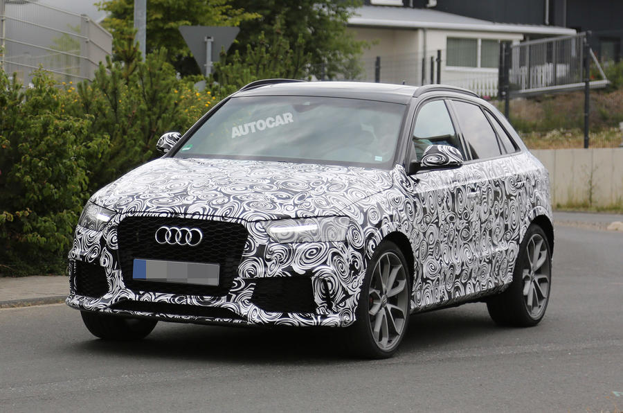 Facelifted Audi RS Q3 to launch in 2015