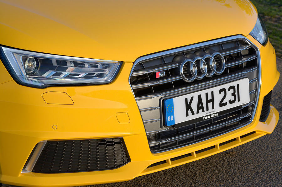 Audi S1 front grille