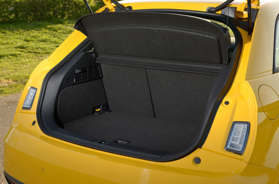 Audi S1 boot space