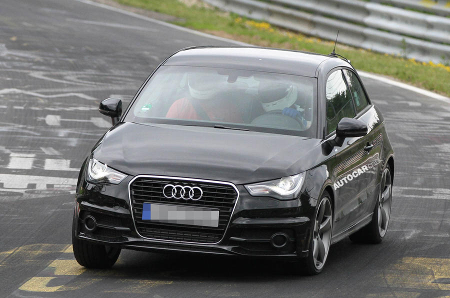 Audi S1 spotted - latest pics