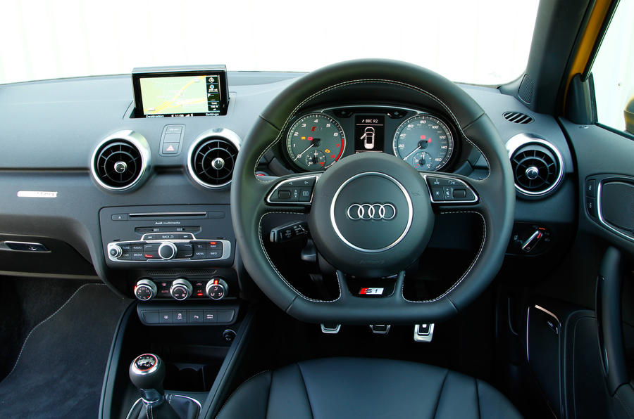 Audi S1's interior