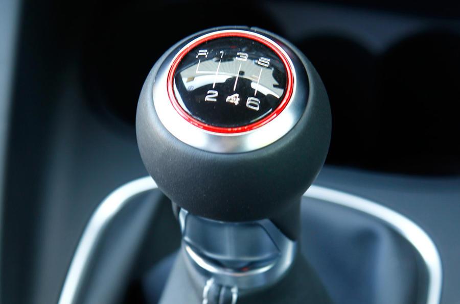 Audi S1's manual gearbox