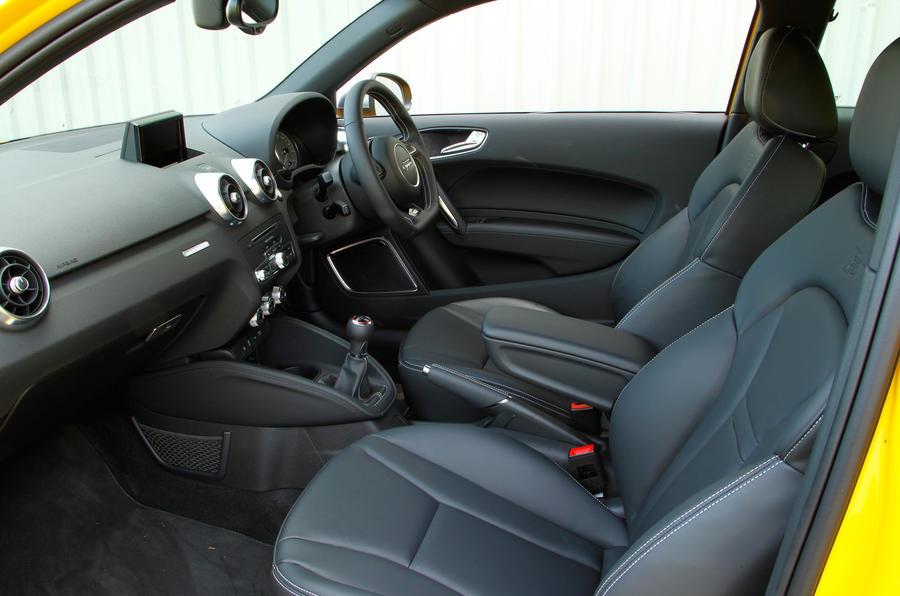 Audi S1's front seats