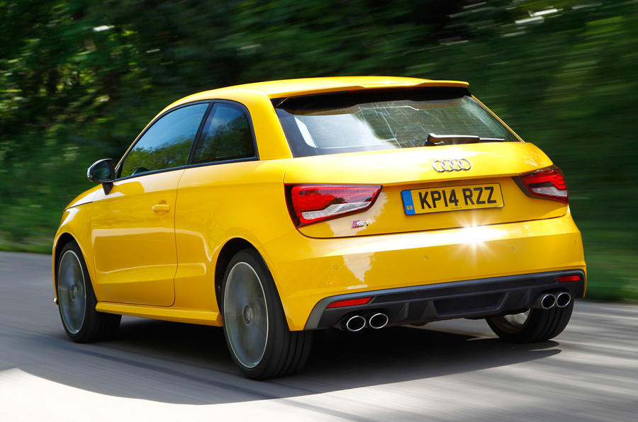 The fast Audi S1