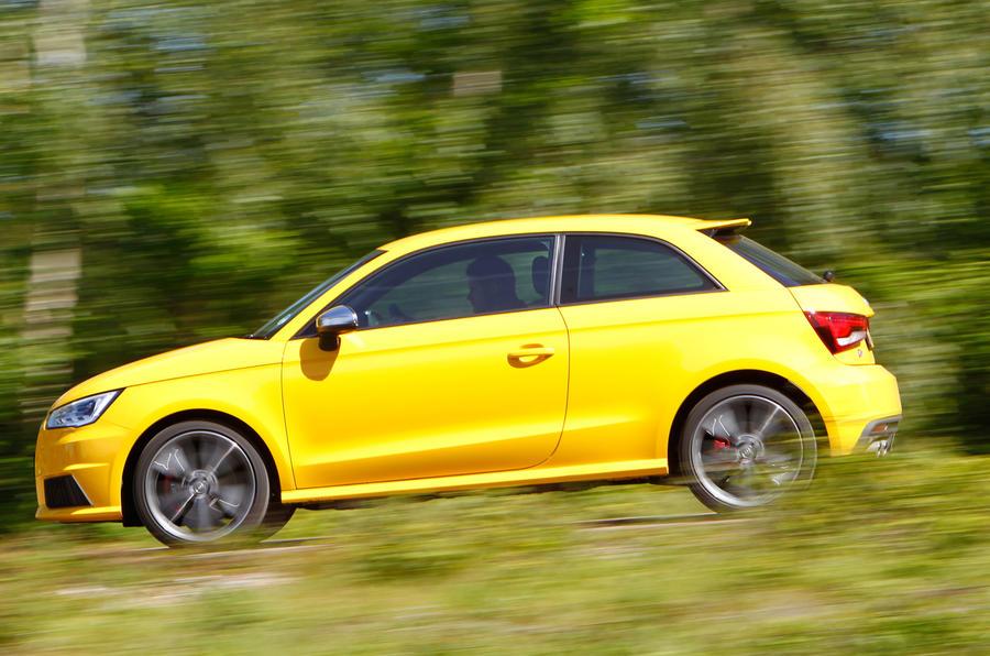Audi TT's multi-link rear end is in the S1