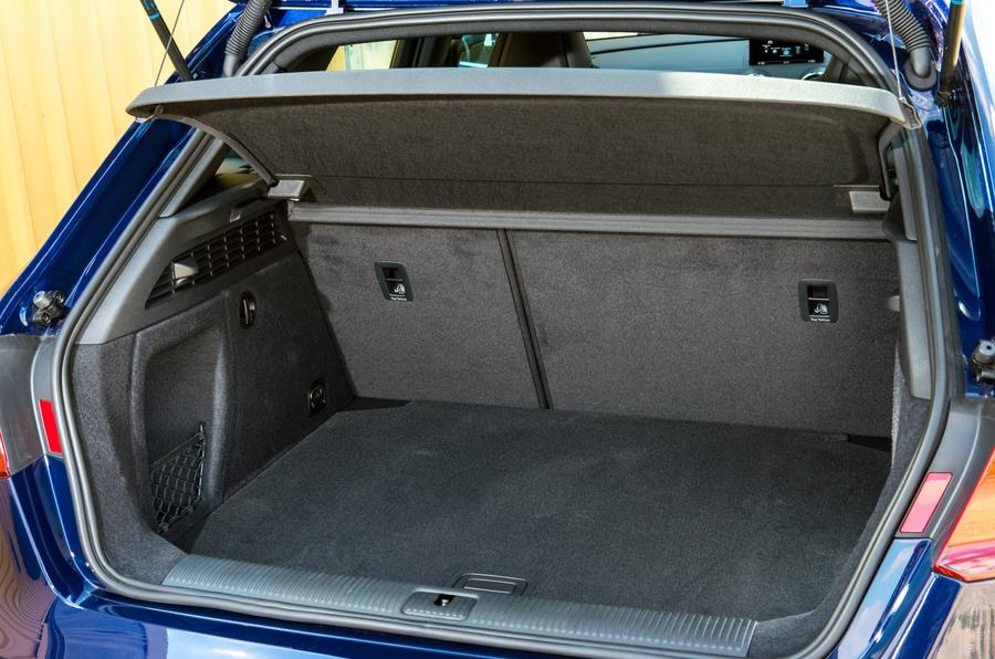 Audi S3 boot space