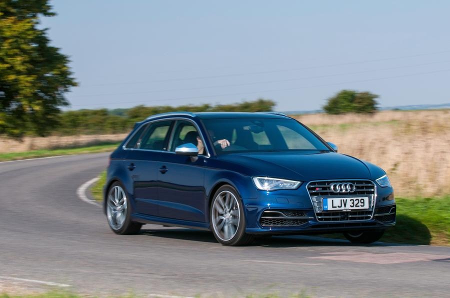 Audi S3 cornering