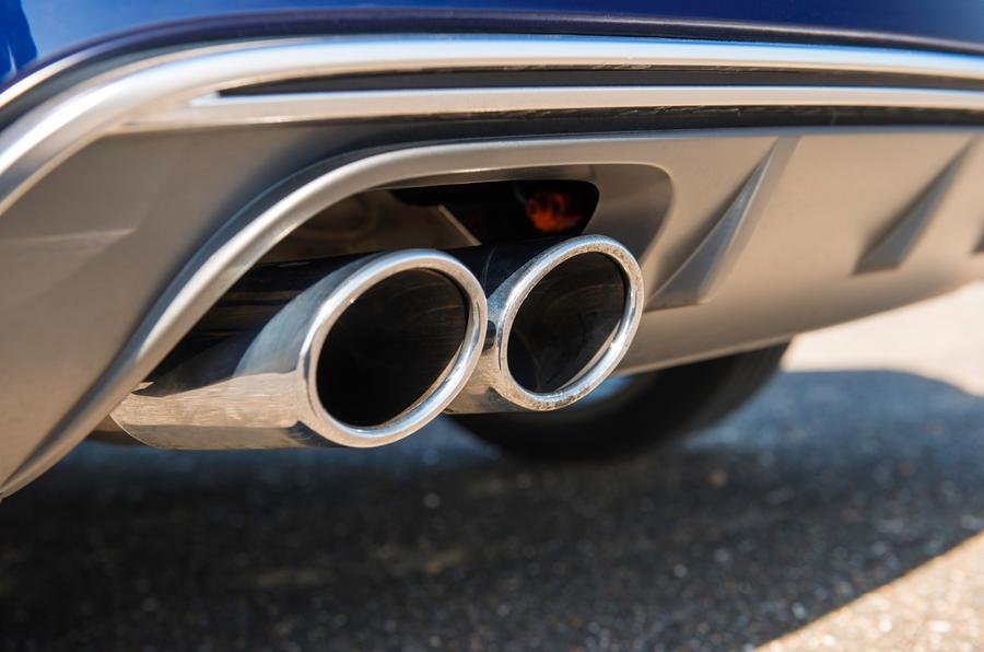 Audi S3 quad-exhaust