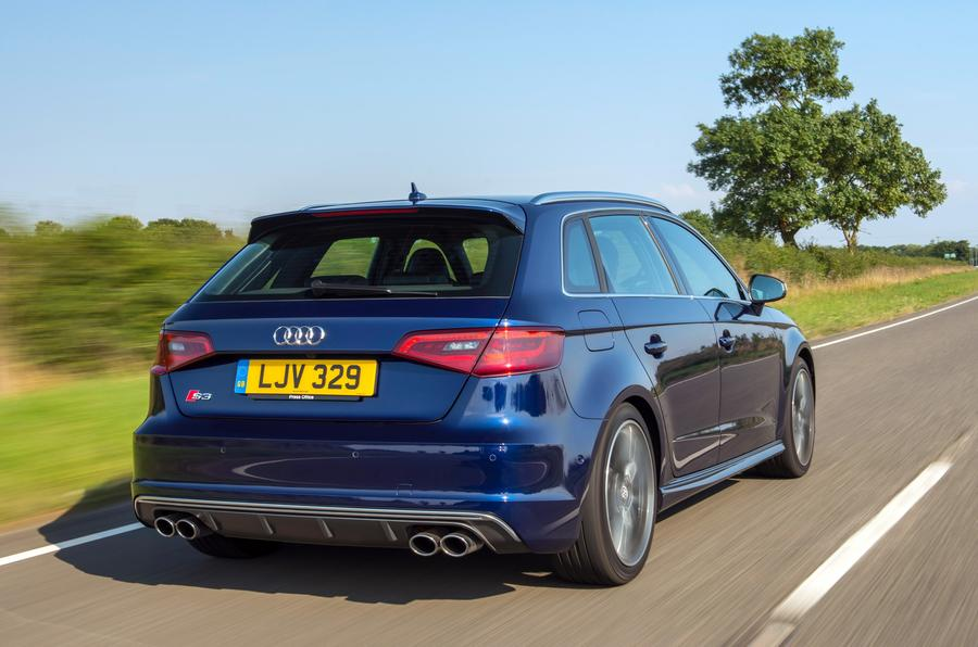Audi S3 rear