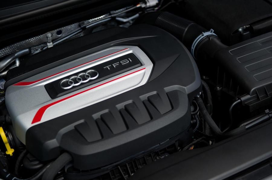 2.0-litre TFSI S3 Cabrio engine