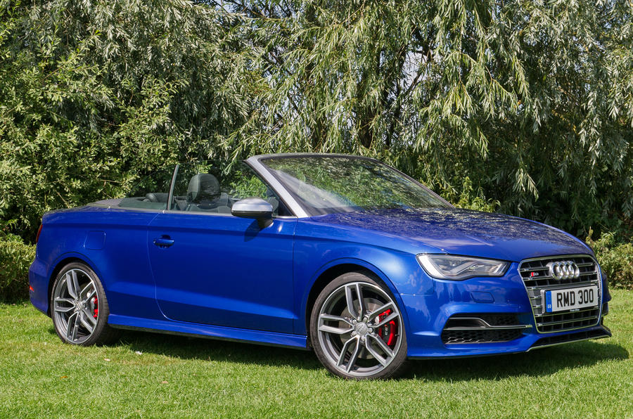 S3 Cabriolet's roof folds down in 18 seconds