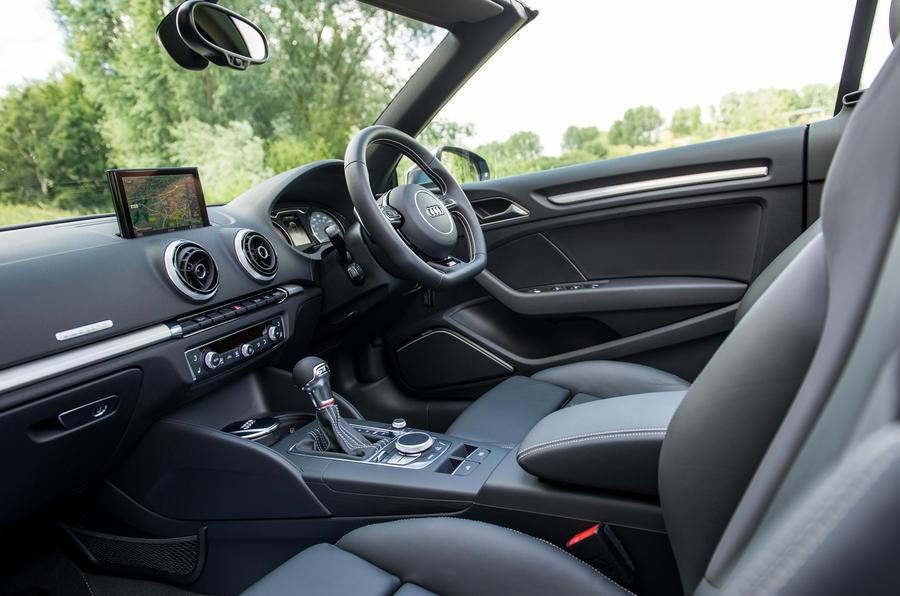 Audi S3 Cabriolet's interior