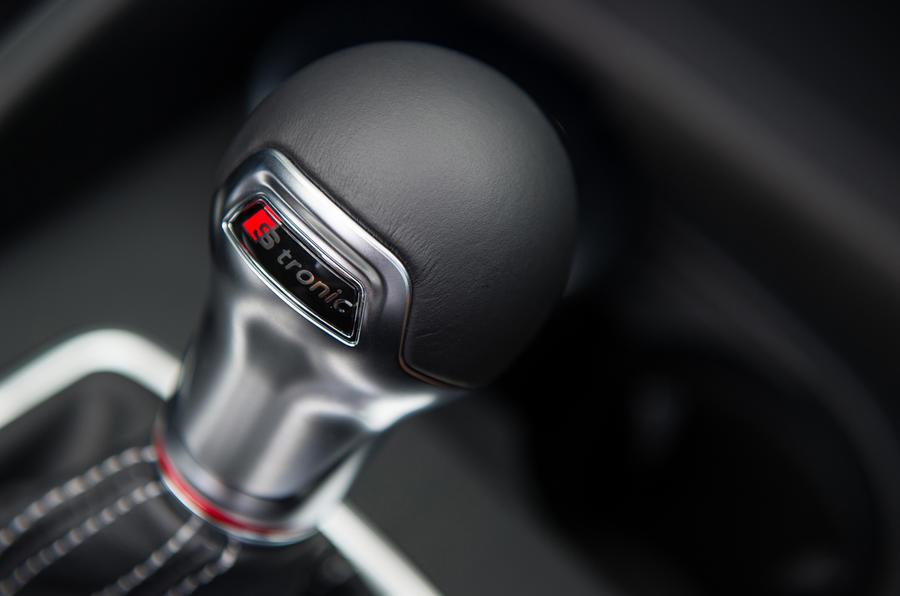 Audi S3's gearstick
