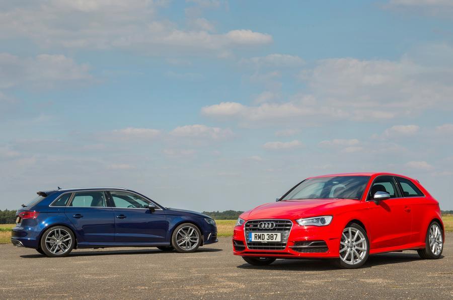 Audi S3 versions