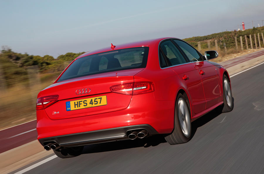 Audi S4 saloon rear