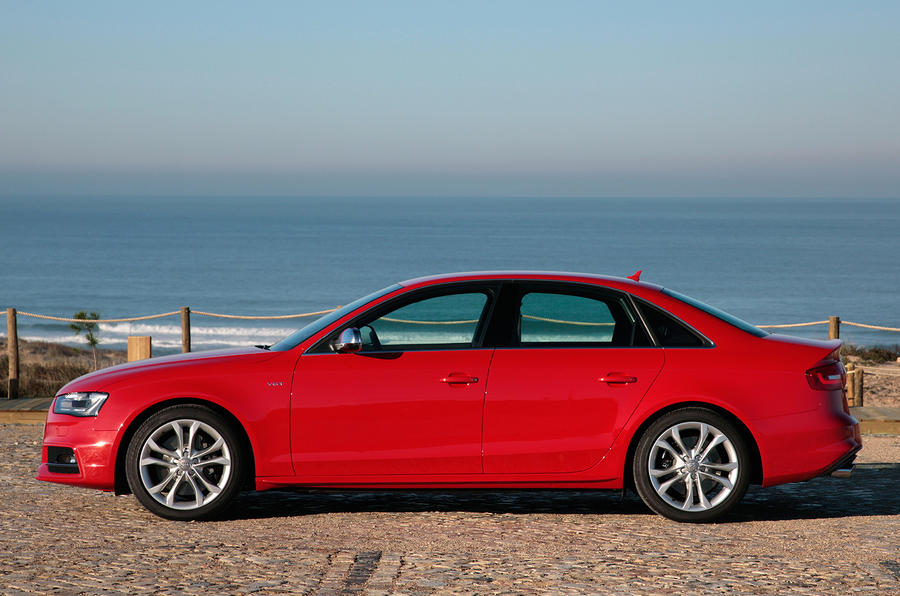 The supercharged Audi S4