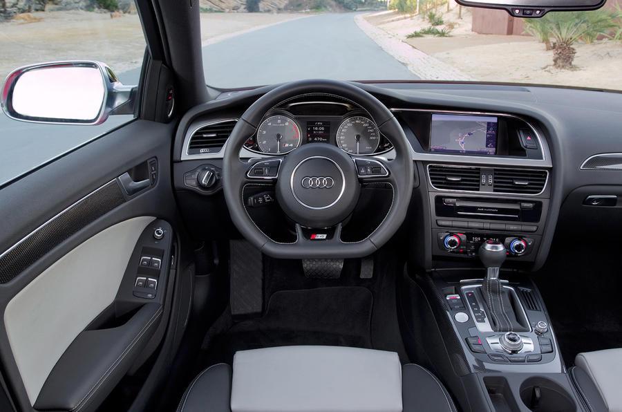 Audi S4's interior