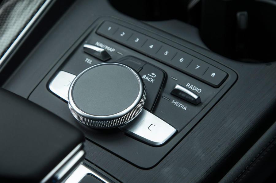 Audi S5 infotainment controller