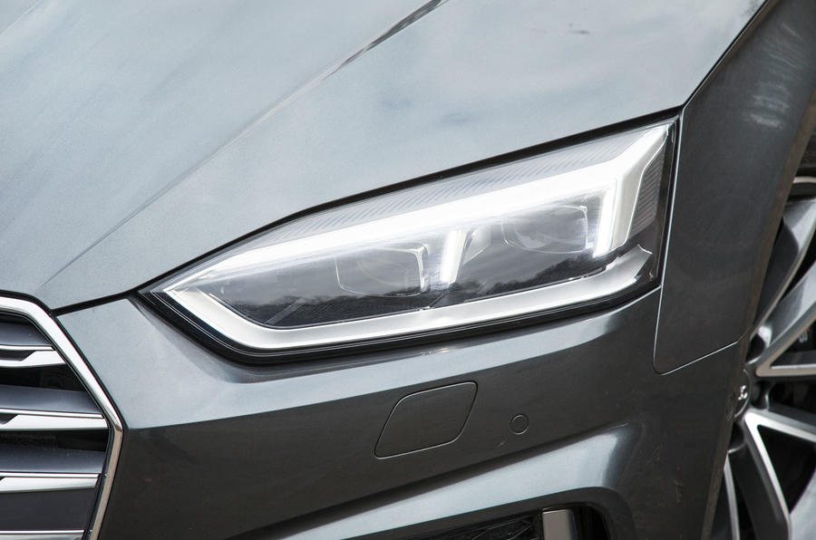 Audi S5 LED headlights