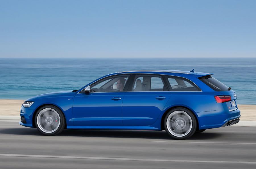 Audi S6 Avant has a 4.0-litre V8