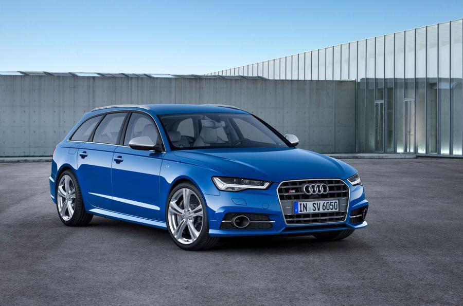4 star Audi S6 Avant