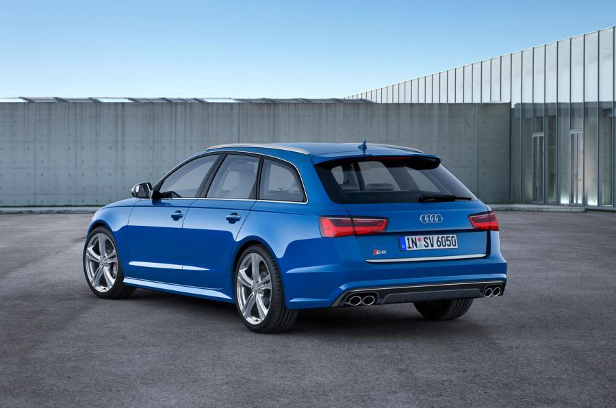 Audi S6 Avant has four-wheel drive