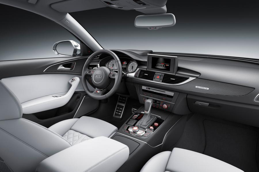 Audi S6 Avant's interior