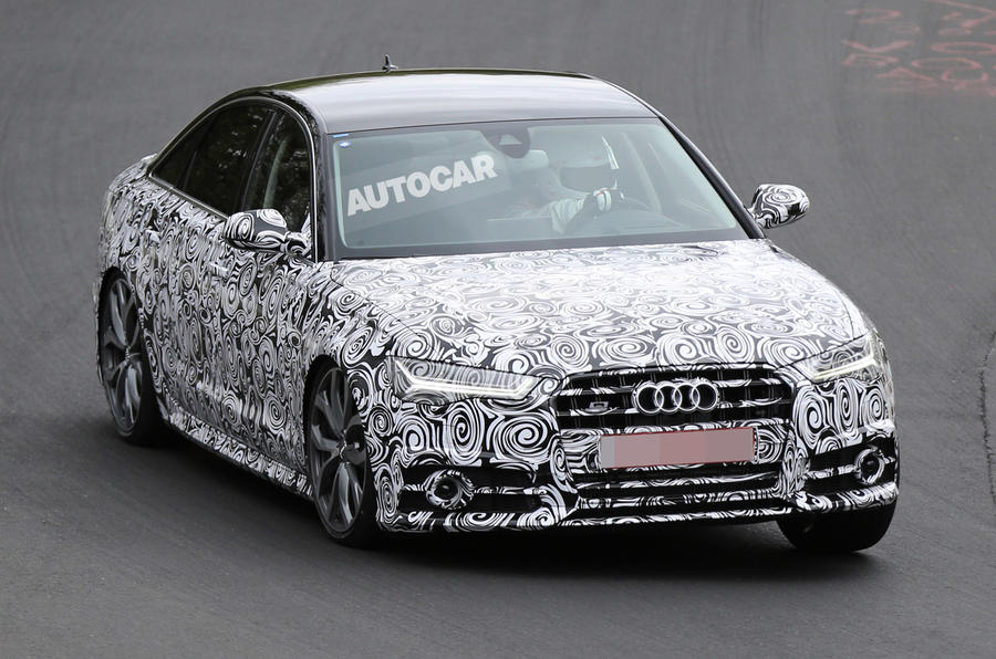 Facelifted Audi S6 spotted ahead of Paris motor show debut