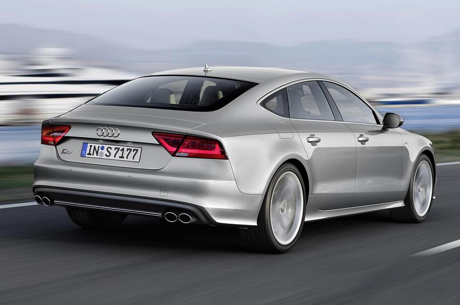 Audi S7's rear
