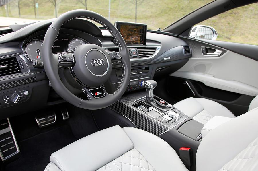 Audi S7's interior