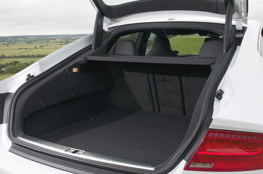 Audi S7 boot space