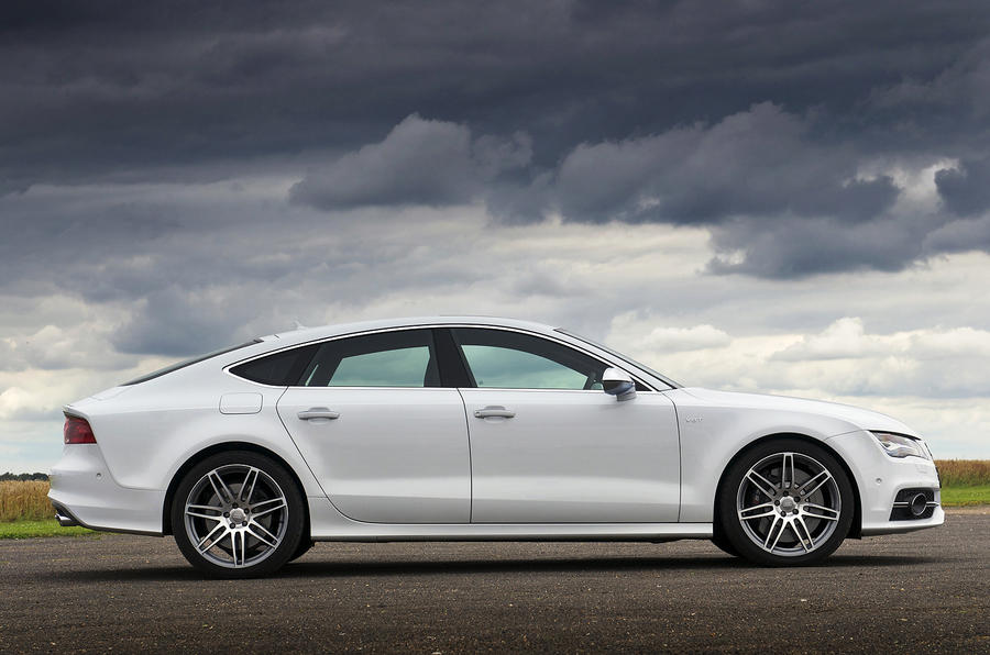 Audi S7 side profile