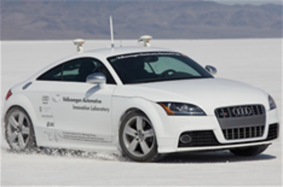 Audi's autonomous TT rally car