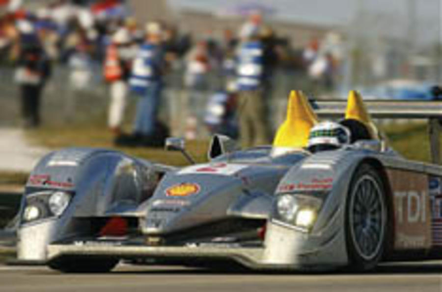 Audi diesel racer wins on debut