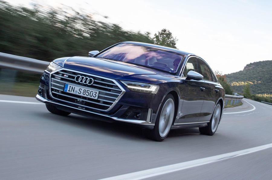 Audi S8 2020 road test review - hero front