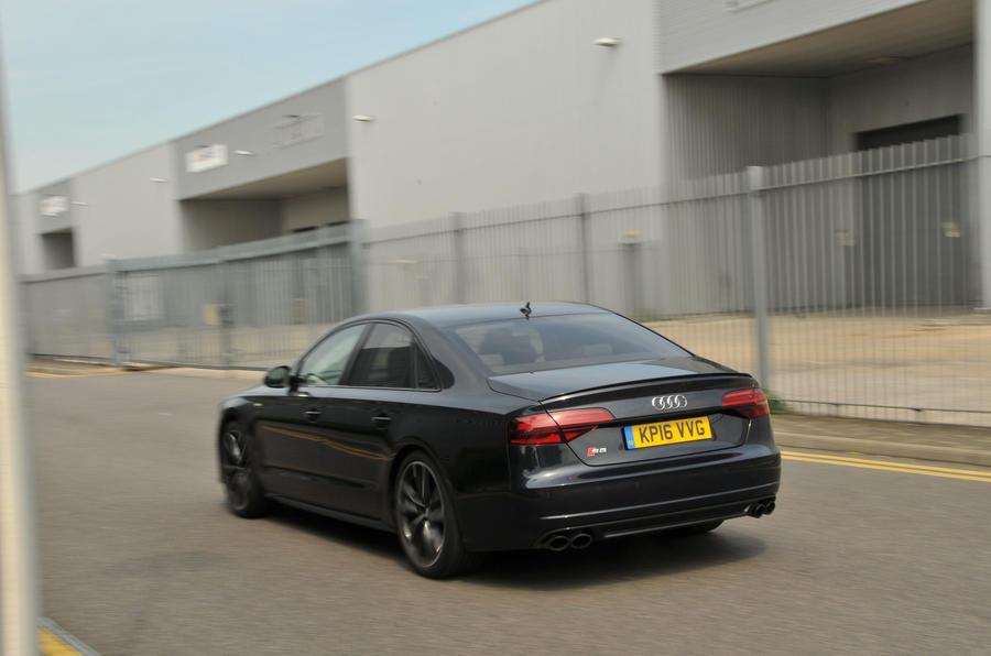 Audi S8 rear end