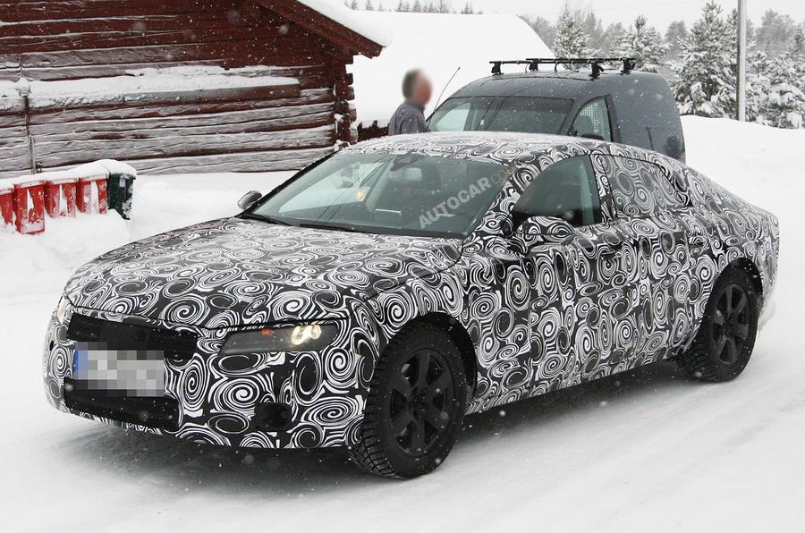 New Audi A7 spy shots