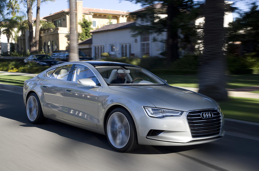 Audi A7 to match A8's quality
