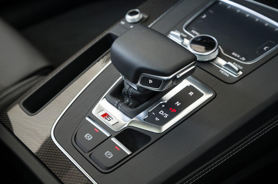 Audi SQ5 automatic gearbox